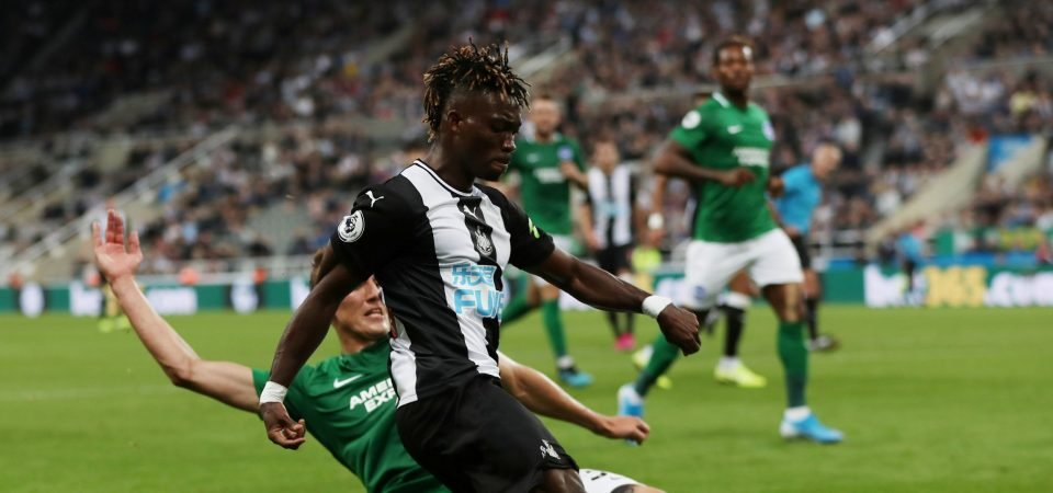 Newcastle's Atsu should be given another chance if Almiron doesn't improve soon