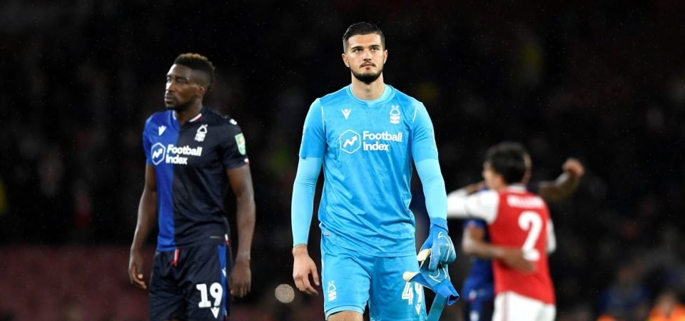Nottingham Forest hope Aro Muric is recalled by Manchester City