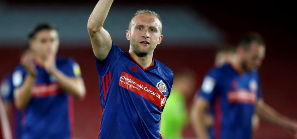 Sunderland's Dylan McGeouch is a cause of concern for Phil Parkinson
