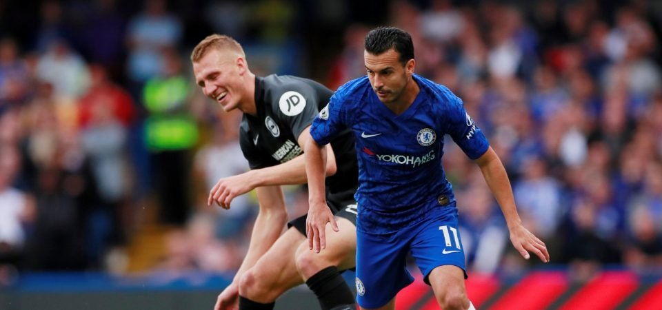 Chelsea are ready to listen to offers for Pedro in January