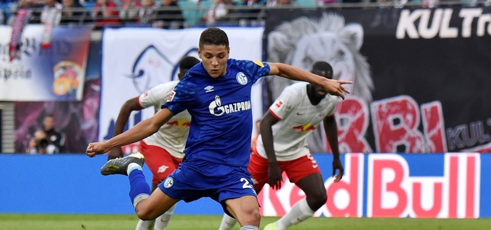 Liverpool are said to be studying Schalke's Amine Harit
