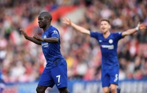 "Chelsea star N'Golo Kante says he ""feels good"" in London"