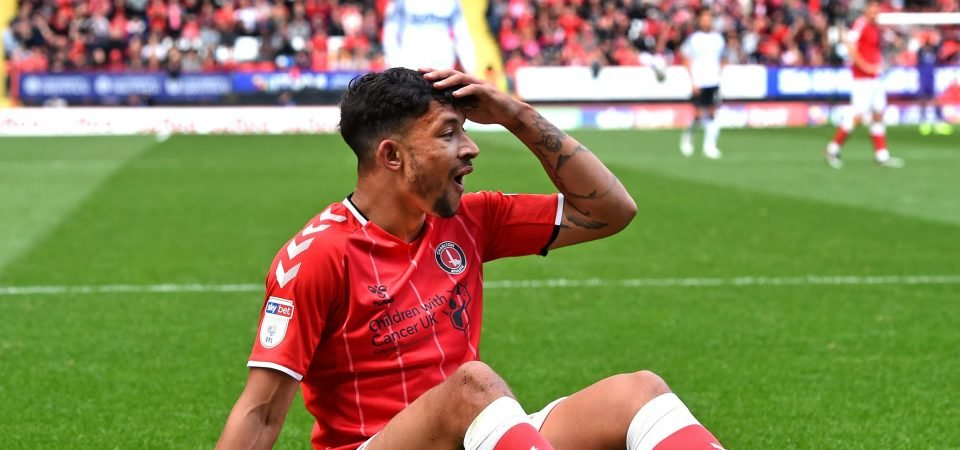 Macauley Bonne available for Charlton Athletic against Cardiff City