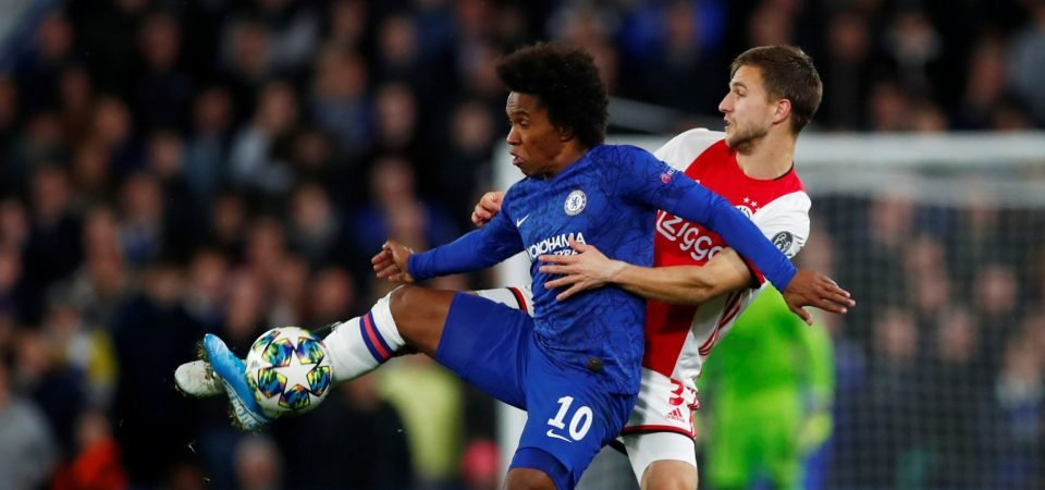 Chelsea's Willian shows once again he is relishing life without Eden Hazard