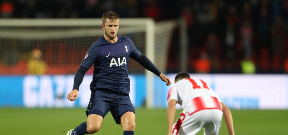 Tottenham fans praise Eric Dier for display against Red Star