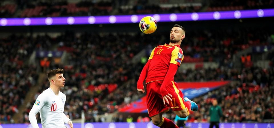 West Ham's Sead Haksabanovic quietly impresses for Montenegro vs England