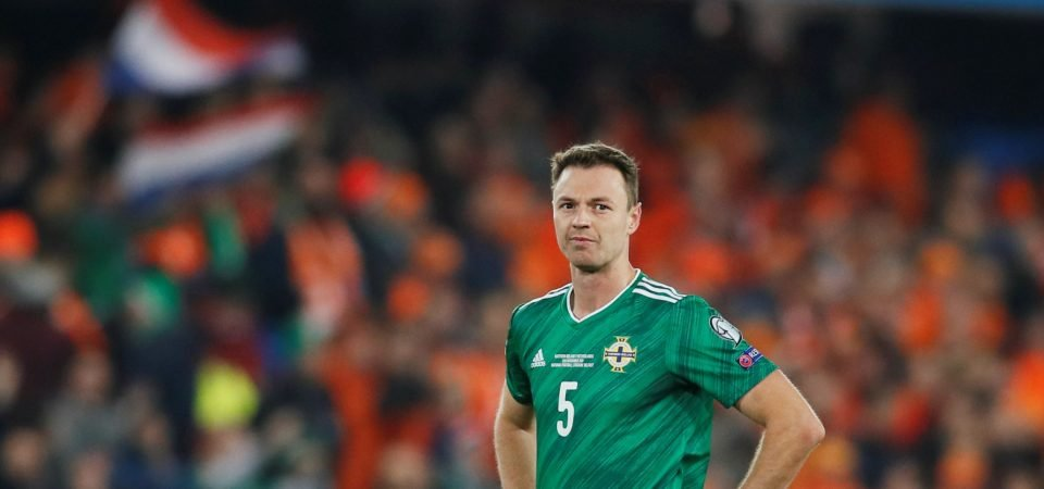 Leicester's Jonny Evans puts in superb performance for Northern Ireland