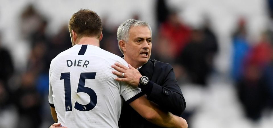 Spurs have to drop Eric Dier against Manchester United
