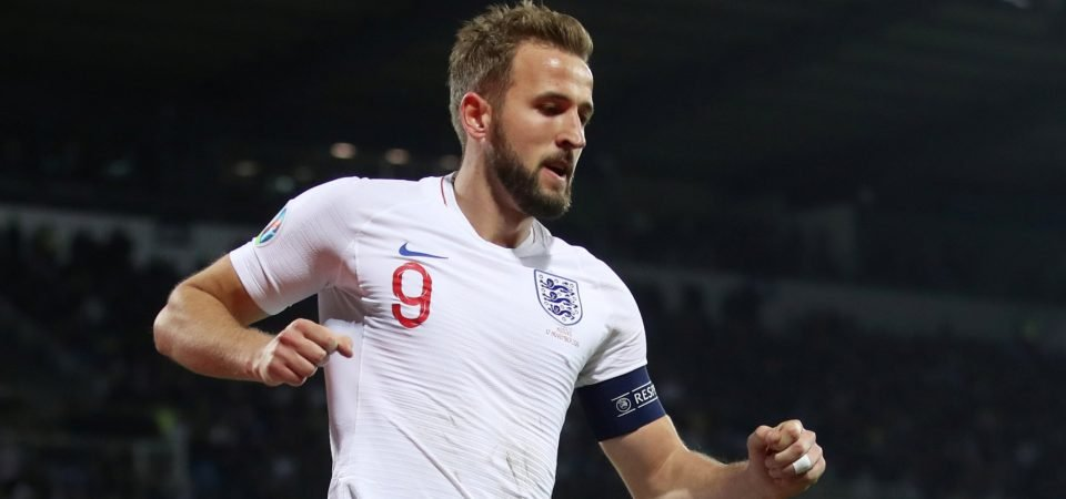 Tottenham Hotspur's Harry Kane posts a snap after England's Euro qualification
