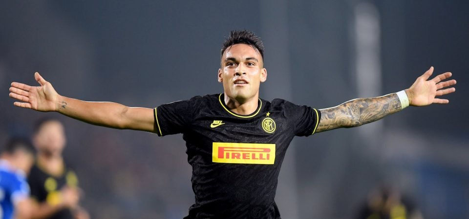 Manchester City: Lautaro Martinez could be a great Aguero heir