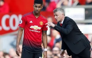 Man Utd's Marcus Rashford throws his complete backing behind Ole Gunnar Solskjaer