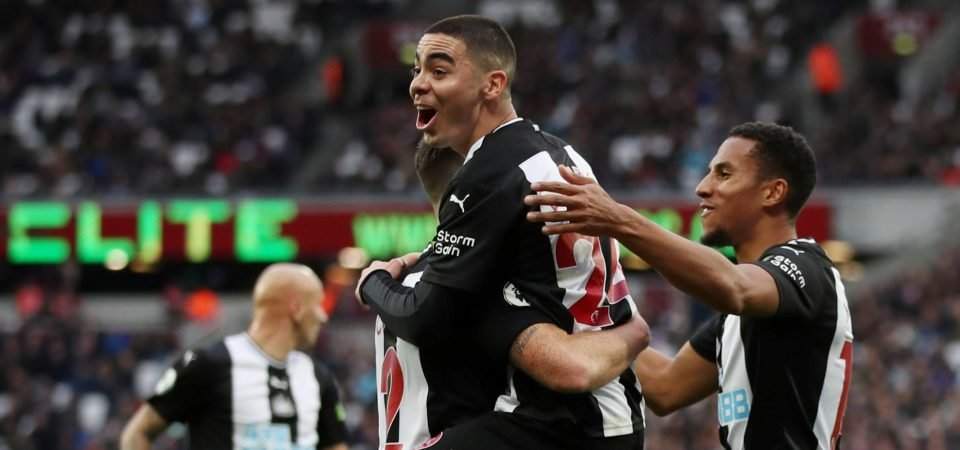 Miguel Almiron's Paraguay goal should allow him to take confidence into Newcastle matches