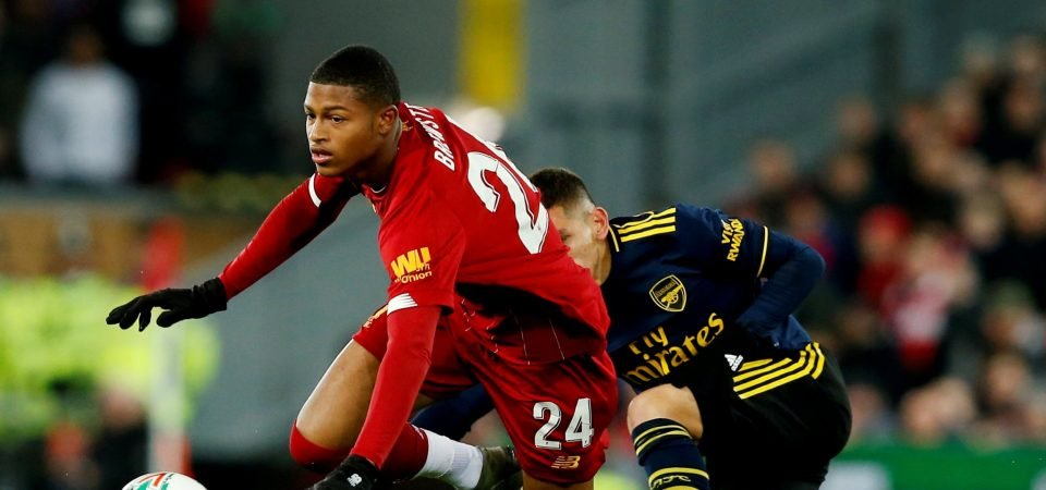 Liverpool's Rhian Brewster puts in a shocker for England's U21s