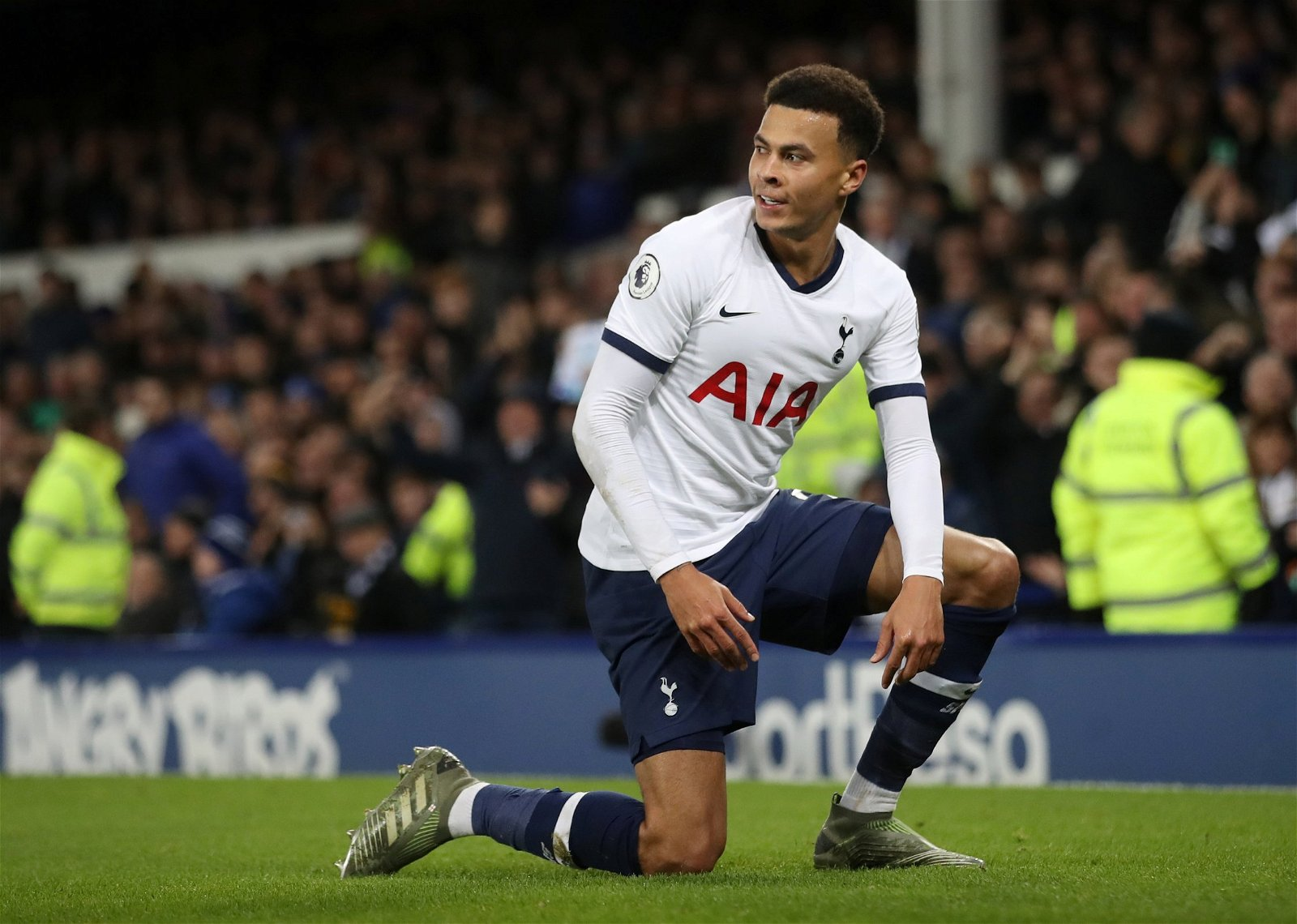 Tottenham Hotspurs Dele Alli celebrates scoring their first goal v Everton - Three Spurs men set to benefit most from Mourinho appointment - opinion