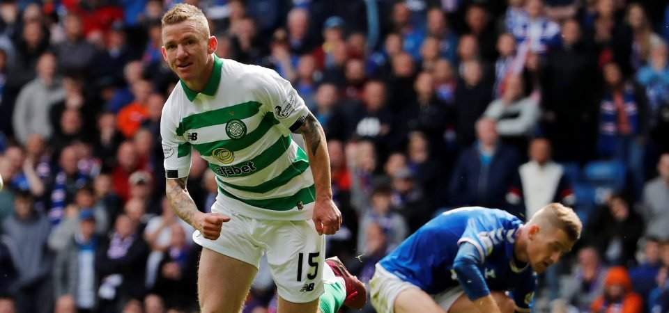 Celtic fans laud Jonny Hayes after his Man of the Match performance