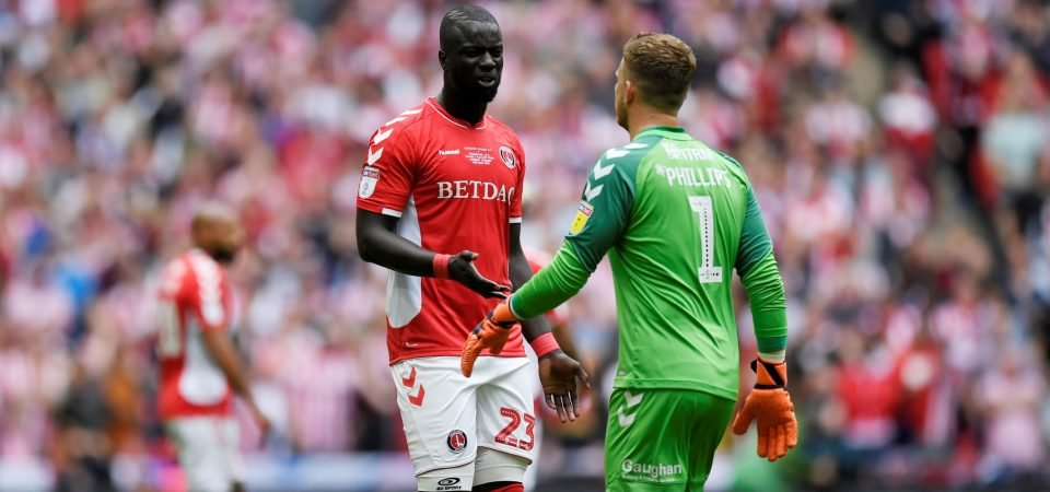 Charlton fans continue to slam Naby Sarr after another dreadful performance