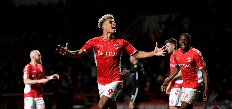 Charlton's Lyle Taylor showed what he's all about on Saturday