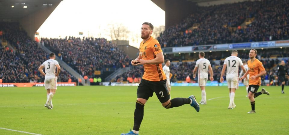 Wolves' Matt Doherty has elevated his game amidst recent Aurelio Buta links