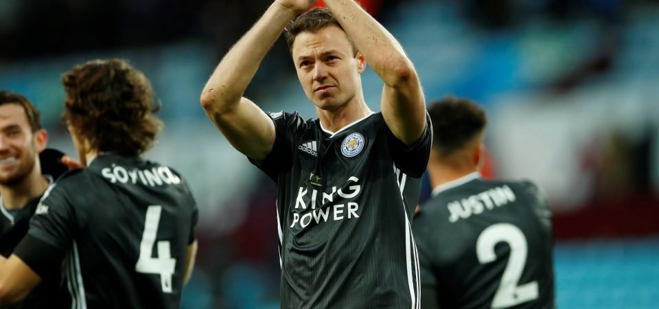 Leicester City: Jonny Evans ruled out of Chelsea clash