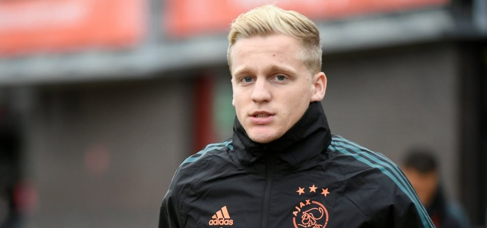 Shades of Scholes: Man Utd boss Solskjaer must start Donny van de Beek or face consequences