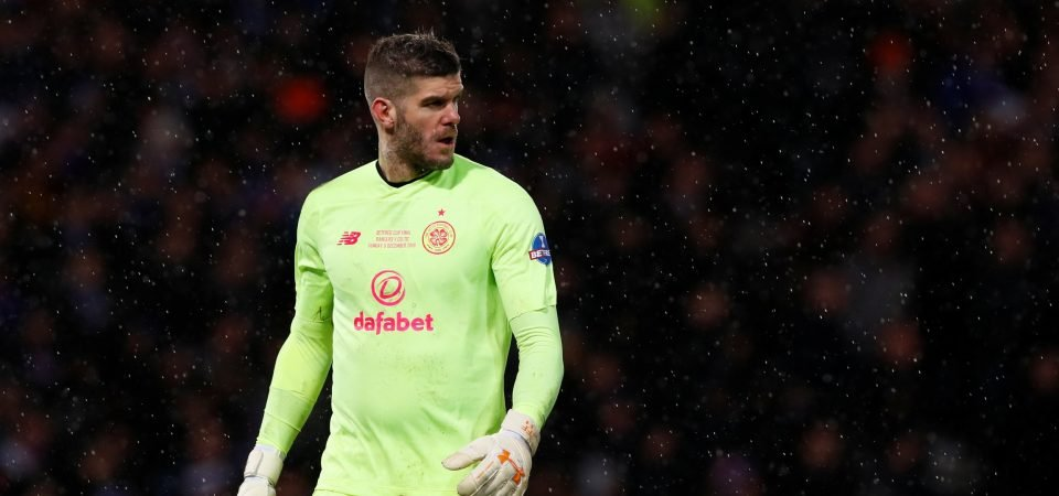 Celtic fans react to journalist's claim about Fraser Forster