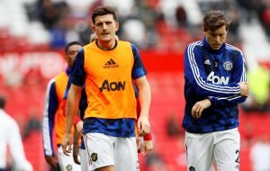 Man Utd's centre-back partnership of Maguire and Lindelof hailed by Wes Brown