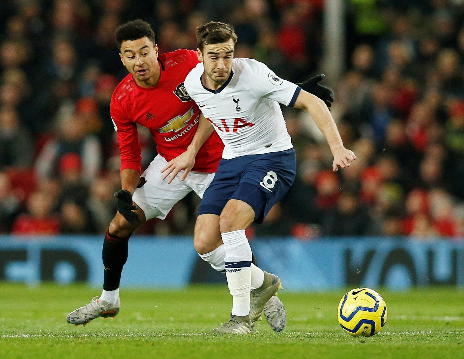 """Harry Winks in action against Manchester Uniteds Jesse Lingard - Jose will fume if Levy gets """"big"""" call on £75k-p/w gem wrong; he's """"the glue"""" at Spurs – opinion"""