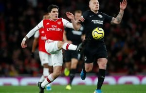 Arsenal's Hector Bellerin produced a shocking display in Brighton defeat