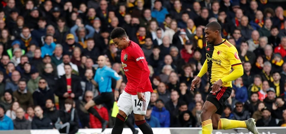 Manchester United fans slam Jesse Lingard's performance vs Arsenal