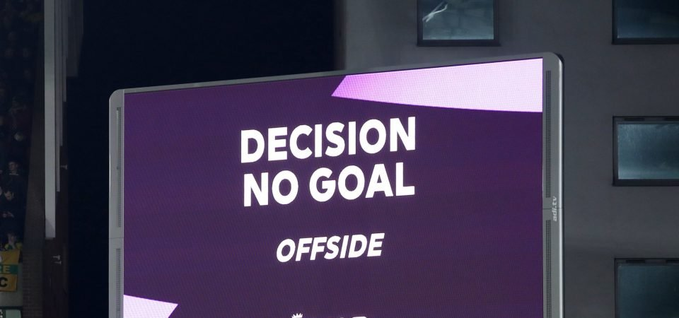 VAR: Football's refereeing super-computer isn't the problem - we are
