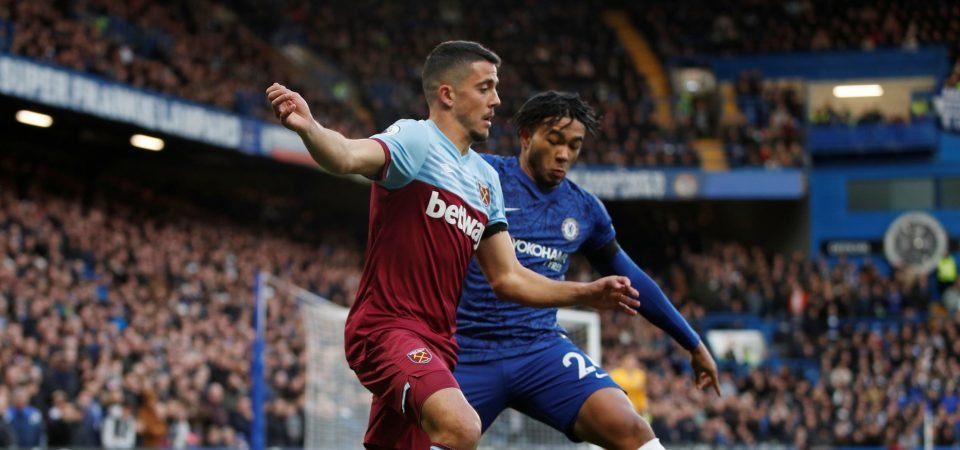 West Ham's Pablo Fornals could get a boost from his first Premier League goal contribution