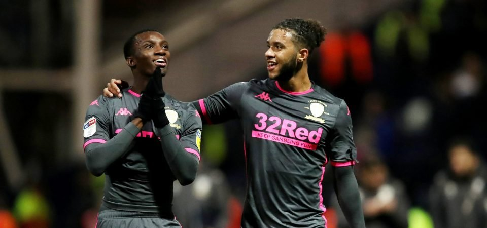 Leeds fans react to the possibility of Eddie Nketiah being recalled