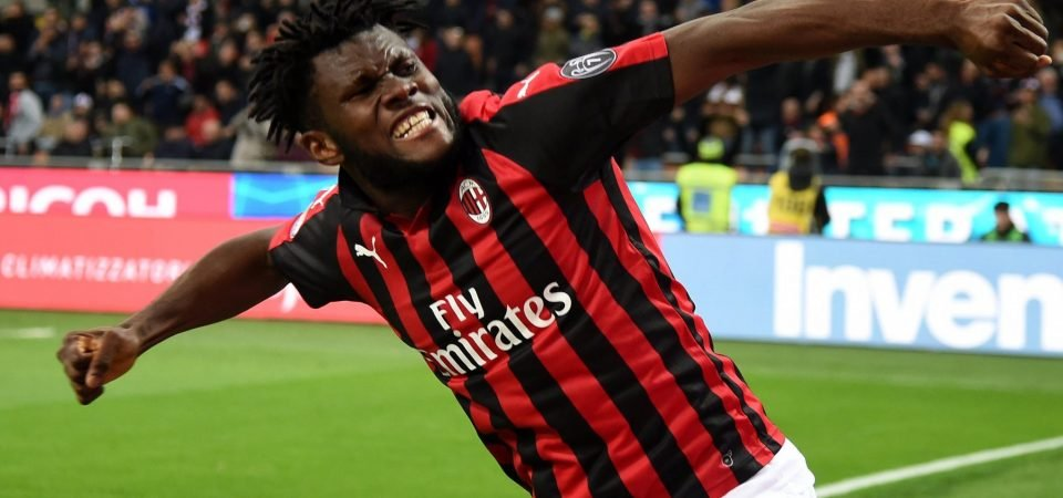 Liverpool eye up January move for Franck Kessie