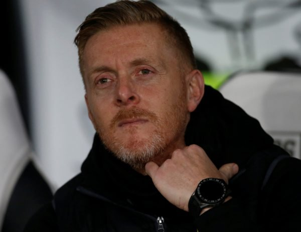 garry monk looks on
