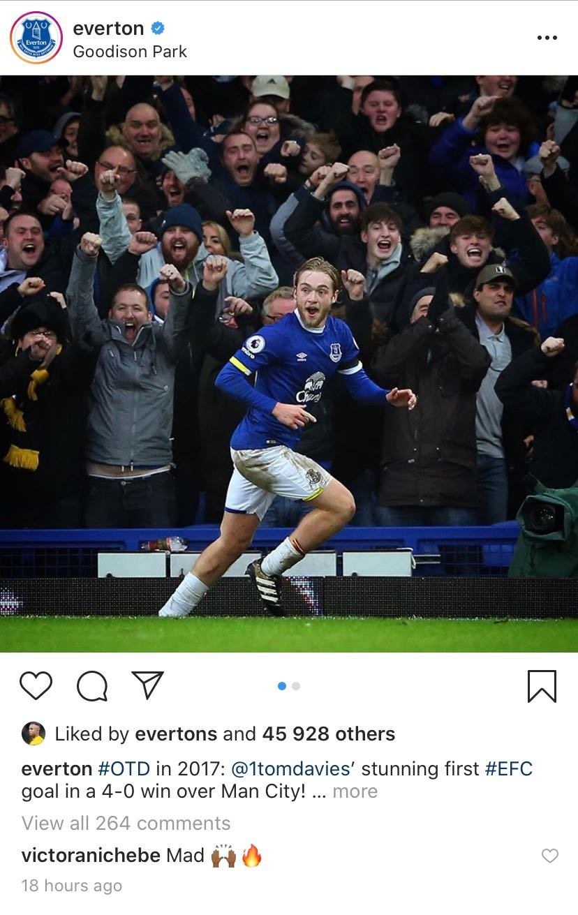 Everton Soares likes Everton post on Instagram - 23 y/o Everton interested in signing likes their official Instagram post