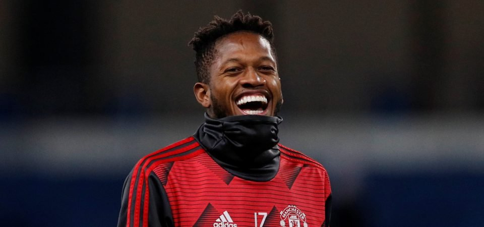 Manchester United: Tencious Fred must start against Tottenham