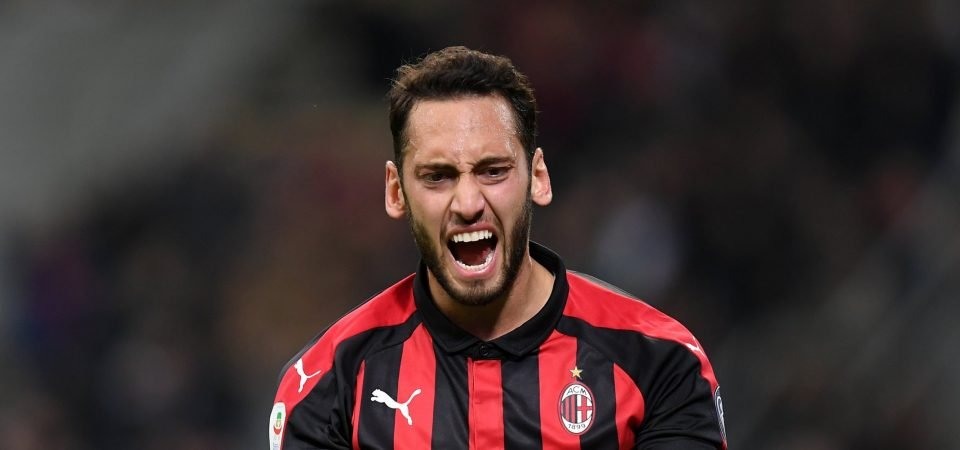 Liverpool have been linked with Hakan Calhanoglu