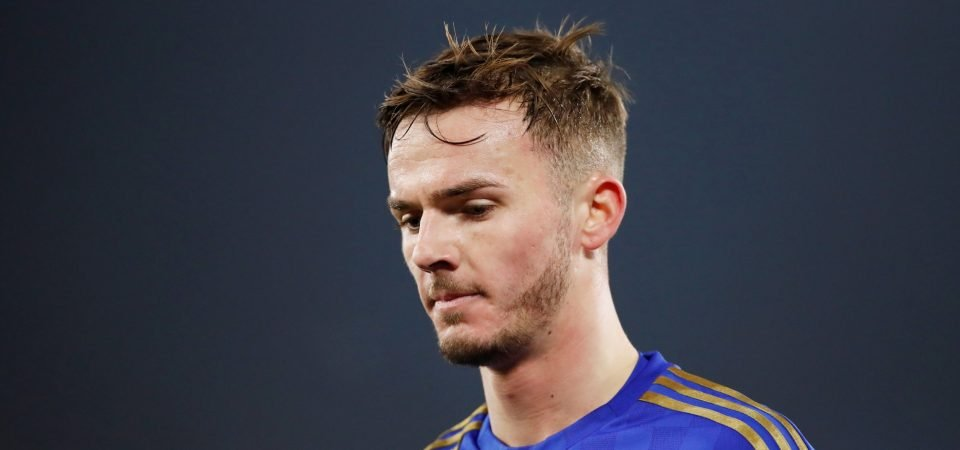 Leicester's James Maddison locked in contract negotiations
