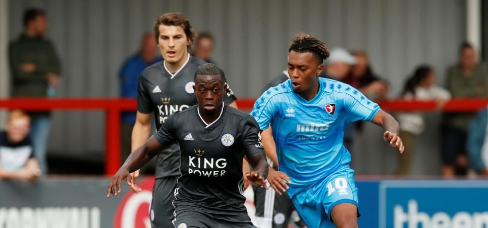 Leicester midfielder Nampalys Mendy took his chance to impress