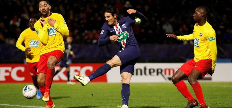 Man United will be offered chance to sign Edinson Cavani in the summer