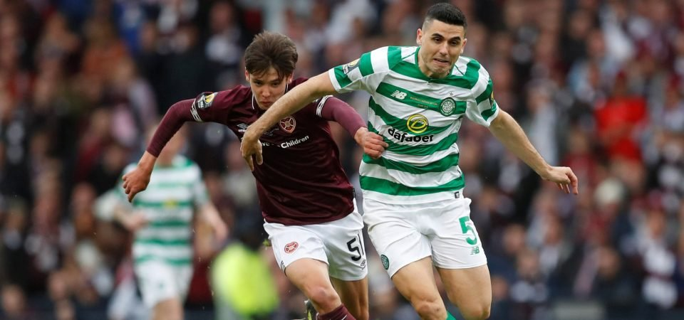 Celtic must beat competition to Hearts starlet Aaron Hickey