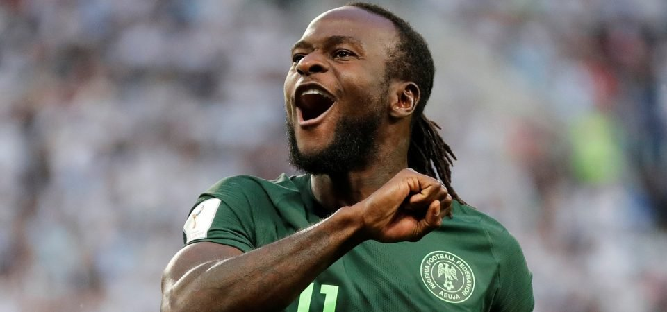 Former Crystal Palace starlet Victor Moses has thrived since Selhurst Park exit