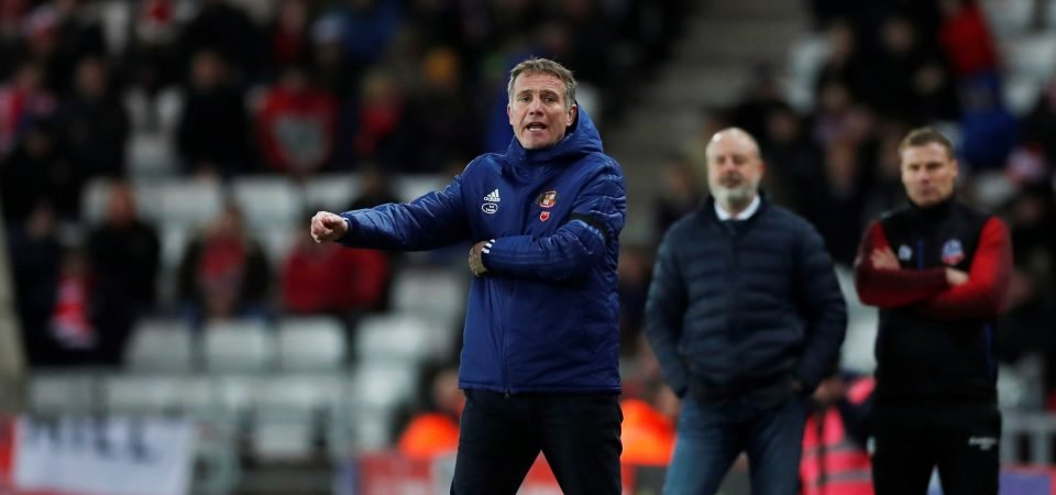 Sunderland icon Kevin Phillips likens Bailey Wright to Liverpool's van Dijk