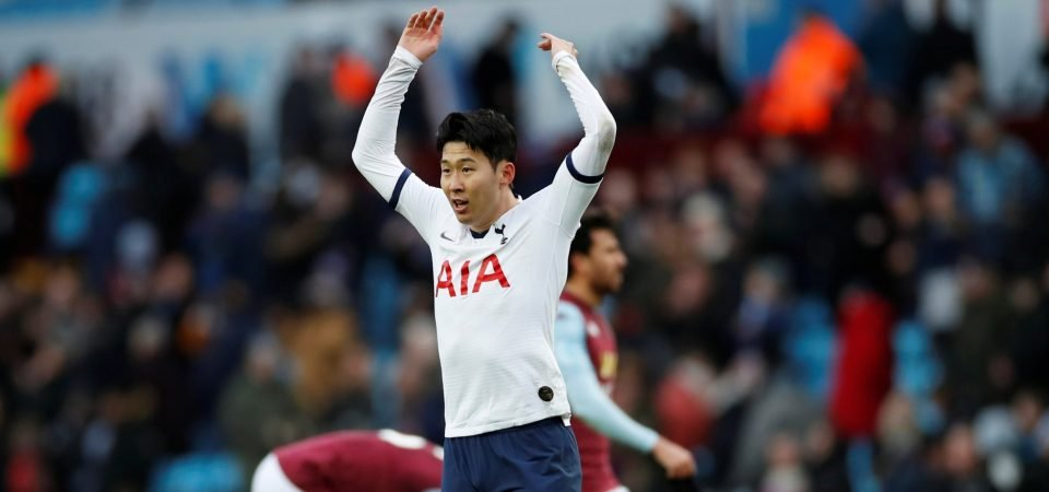 Heung-Min Son receives message of support from Douglas Costa