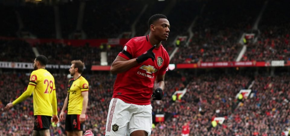 Exclusive: Pundit claims Anthony Martial has a terrible attitude