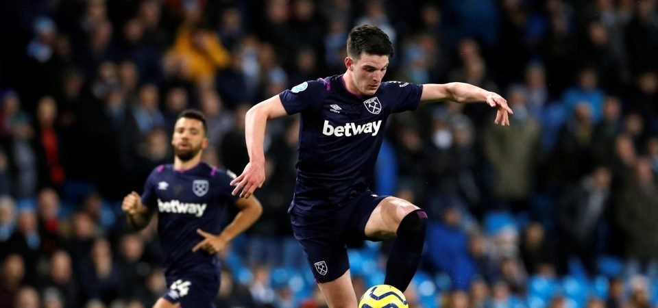 Chelsea interested in move for West Ham's Declan Rice
