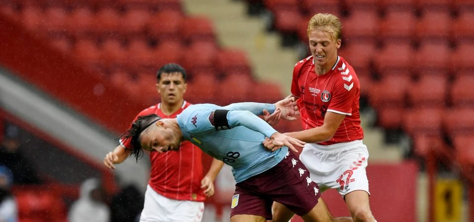 Charlton fans swoon over George Lapslie