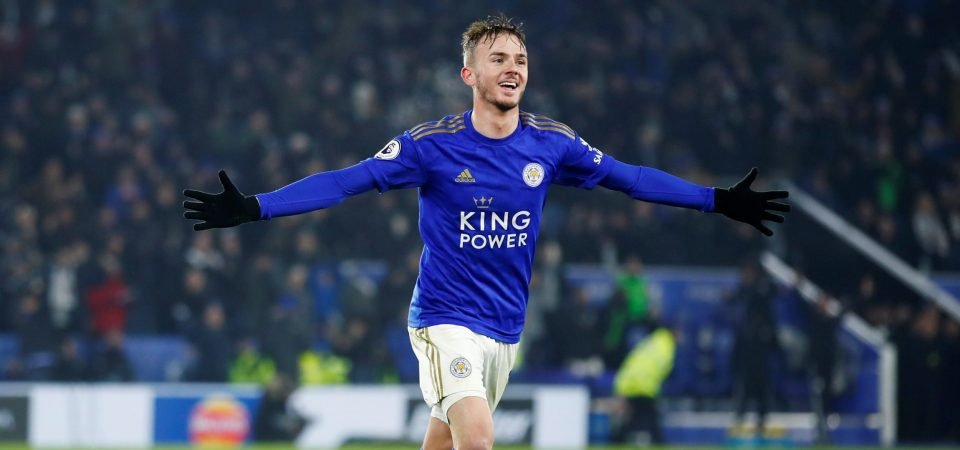 Man Utd target James Maddison wants Old Trafford move