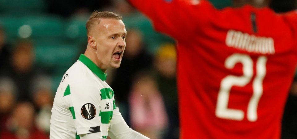 Celtic fans laud Leigh Griffiths after his performance against Motherwell