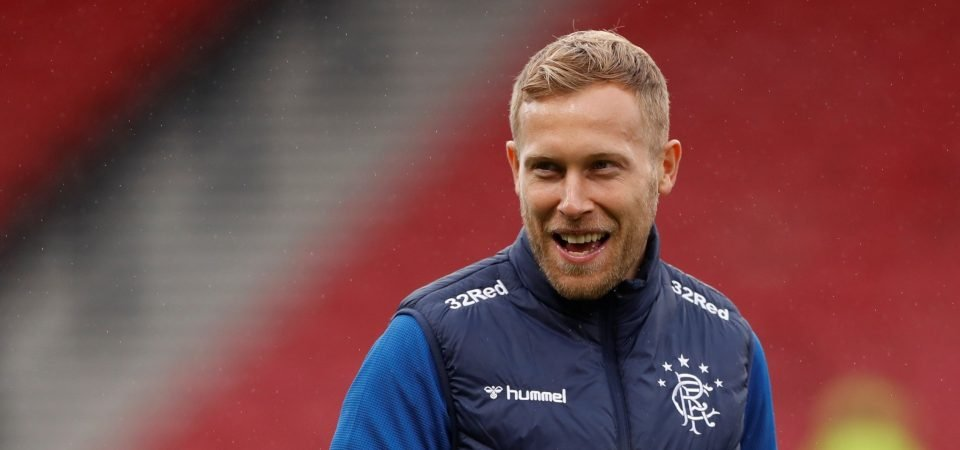 Glasgow Rangers injury boost as Scott Arfield could be fit to face Antwerp